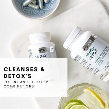 VITAVIVA cleanse & detox