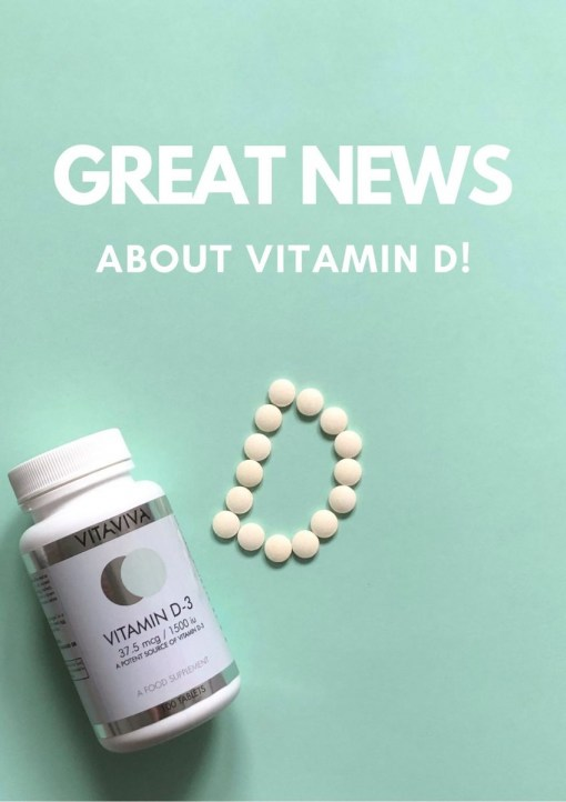 GreatNewsAboutVitaminD