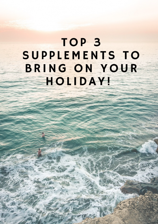Summer Holiday - What Vitamins to Pack?